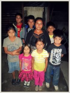 La famiglia di Lilian Yesenia