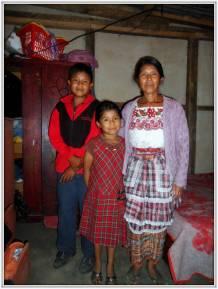 La famiglia di Mateo Ernesto