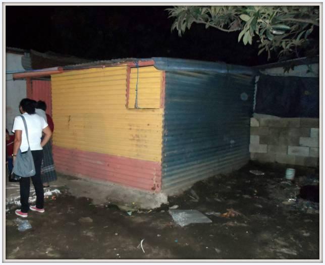 La casa di Oscar Gudiel